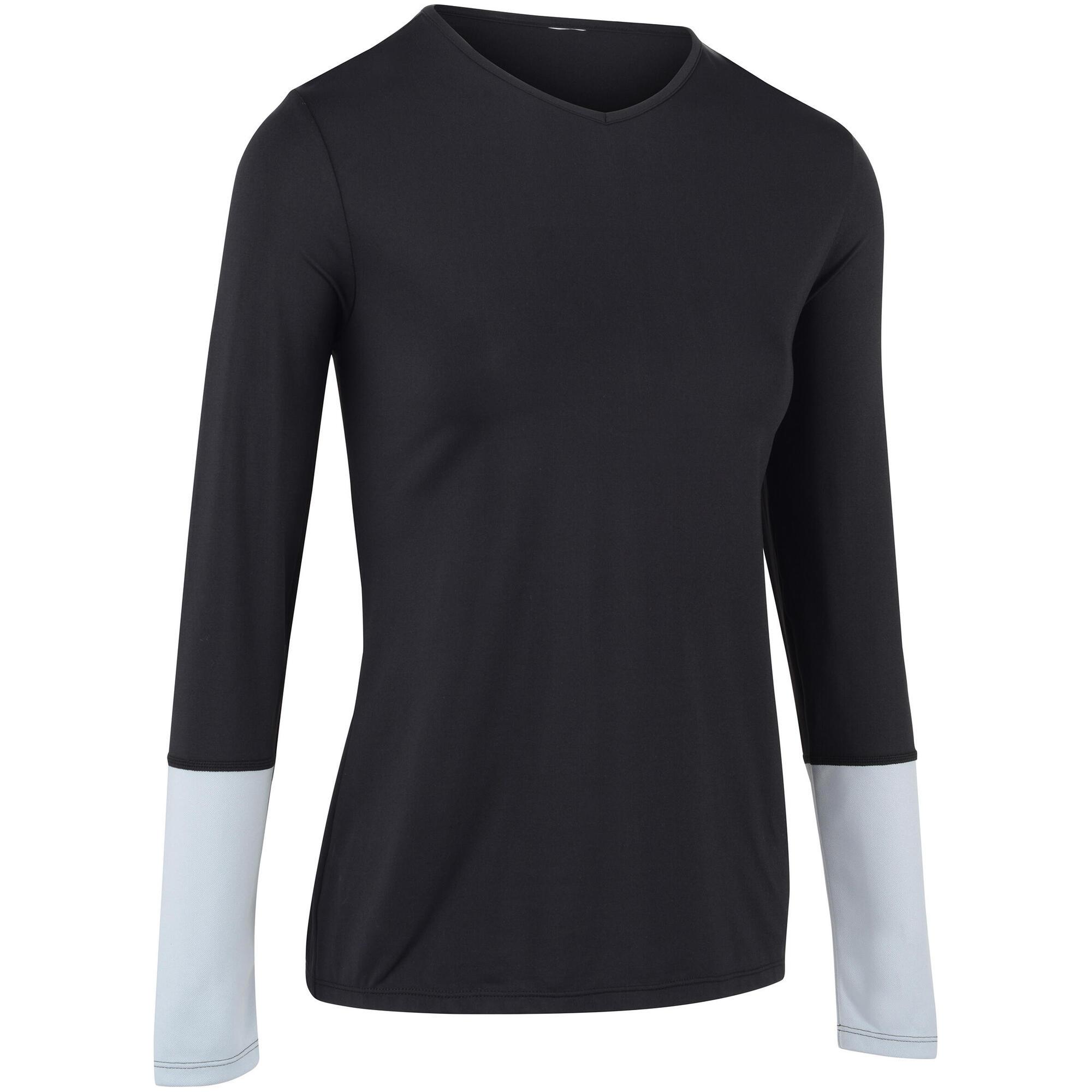 Essential T Shirt Tennis Donna GrigioArtengo Nero n0v8NmOw