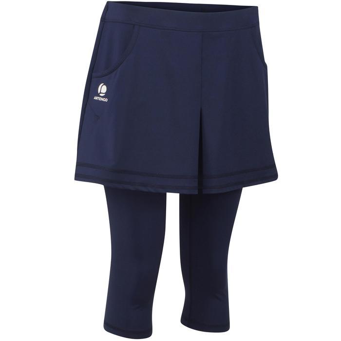 Rokje Thermic dames 3/4 900 marineblauw tennis