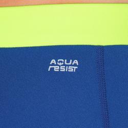 Parte abajo de baño aquabike para mujer resistente al cloro Anna gris amarillo