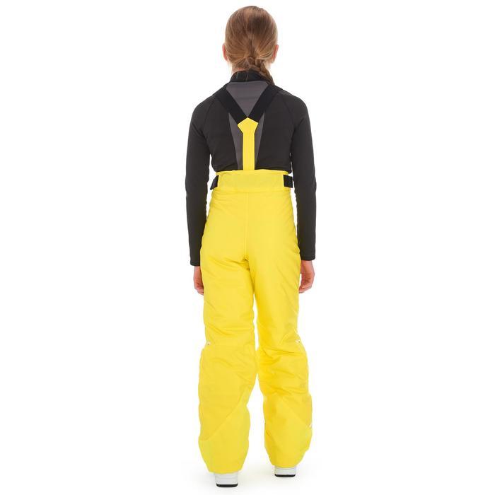 Kinder skibroek 300 Pull'nFit geel