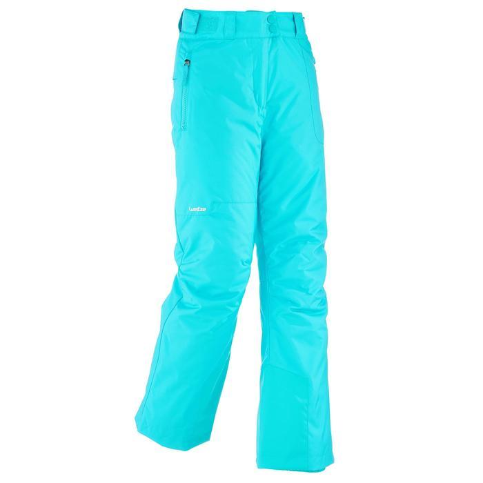 Pantalon de snowboard et ski SNB PA 500 fille turquoise - 1201202