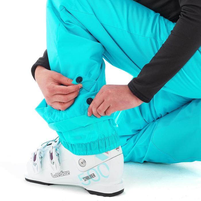 Pantalon de snowboard et ski SNB PA 500 fille turquoise - 1201207
