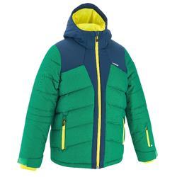 Ski-jas voor jongens SKI-P JKT 500 warm