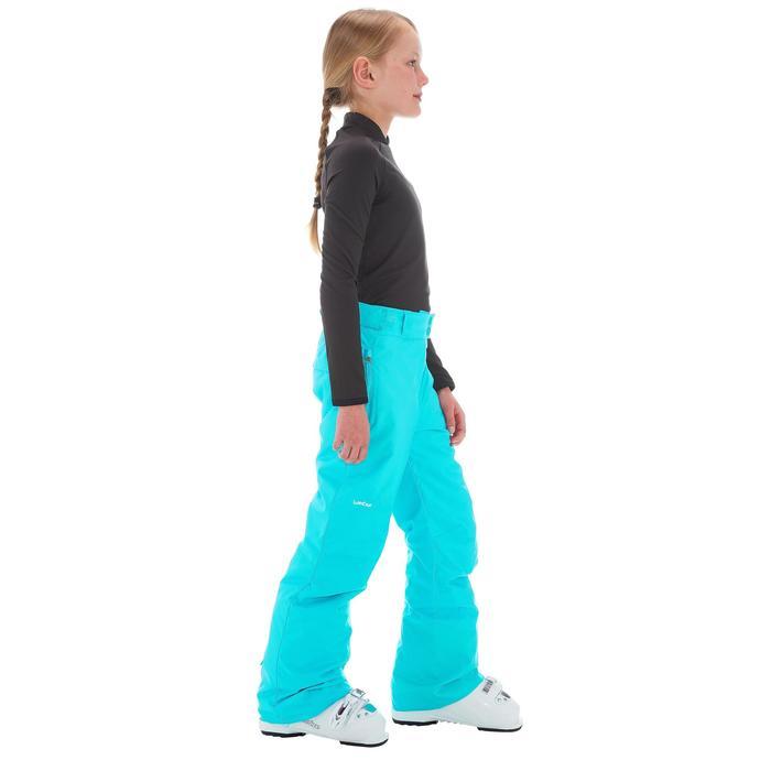 Pantalon de snowboard et ski SNB PA 500 fille turquoise - 1201250