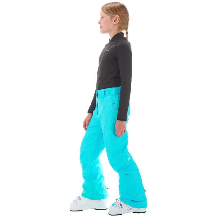 Pantalon de snowboard et ski SNB PA 500 fille turquoise - 1201274