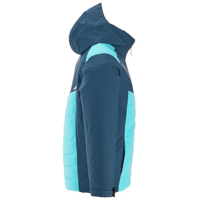 Ski-jas 300 meisjes blauw