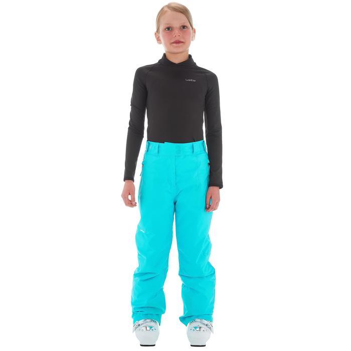 Pantalon de snowboard et ski SNB PA 500 fille turquoise - 1201283
