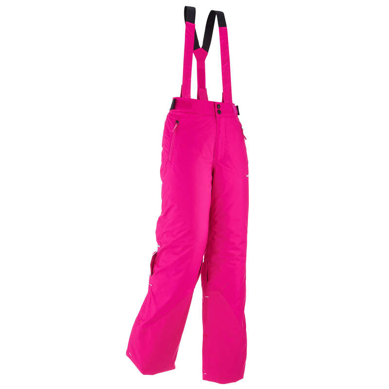 GIRL INTERMEDIATE ON PIST SKIING CLOTHS Skiing - JR D-SKI TROUSERS PNF 500 - PI WEDZE - Ski Wear