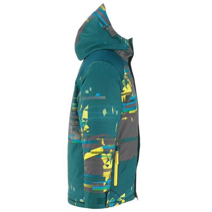 Snowboard- en ski-jas voor jongens SNB JKT 500 donkerpetrol - 1201297