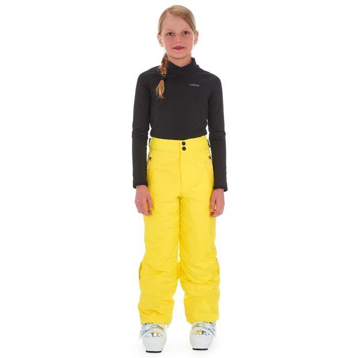 Skihose 300 Pull'nfit Kinder gelb