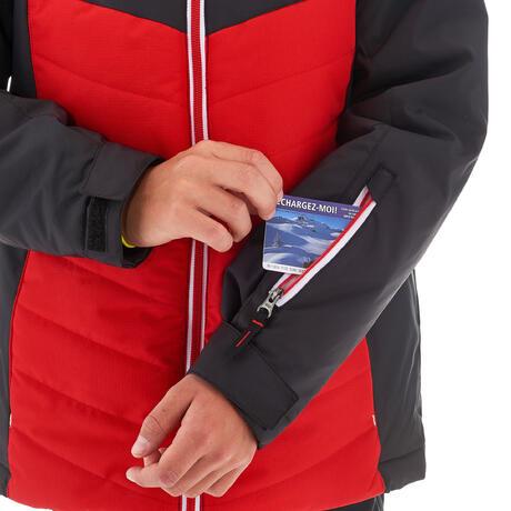 De Chaqueta Ski Jkt Wedze Rojo Niños Esquí P 500 gqrtqdw