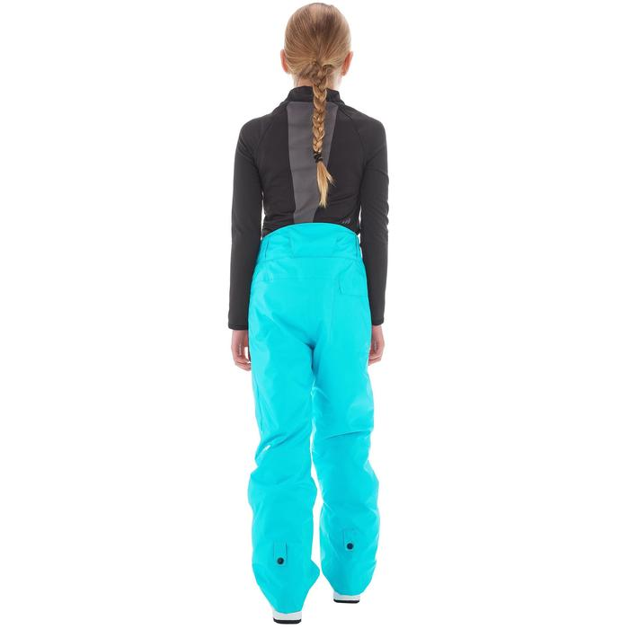 Pantalon de snowboard et ski SNB PA 500 fille turquoise - 1201345