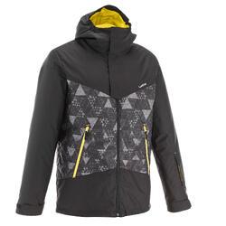 SLIDE 300 男士滑雪運動夾克 黑色