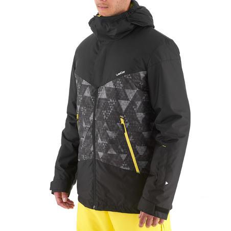 Ski-P 150 Jaket Ski Downhill Pria - Hitam