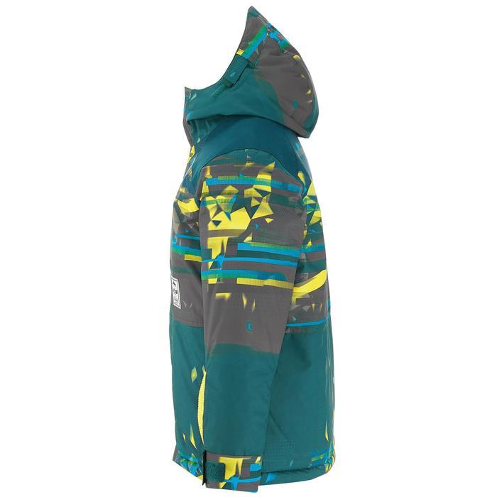 Snowboard- en ski-jas voor jongens SNB JKT 500 donkerpetrol - 1201392