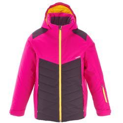 Ski-jas voor kinderen SKI-P 500 roze/paars