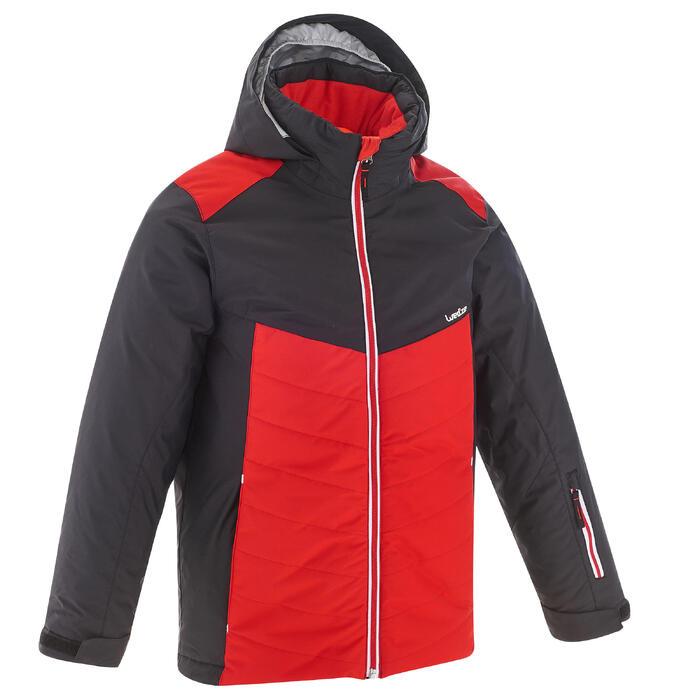 Ski-jas voor kinderen SKI-P JKT 500 rood