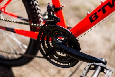 אופני הרים לילדים Rockrider 500 24 אינץ' לגיל 8-12 - כתום
