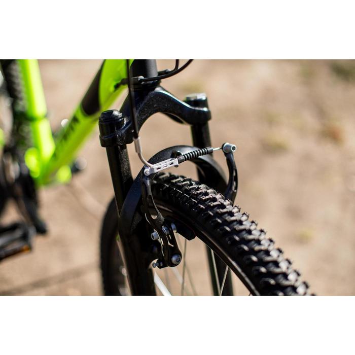 "Mountainbike 24"" Rockrider 500 Kinder neongelb"