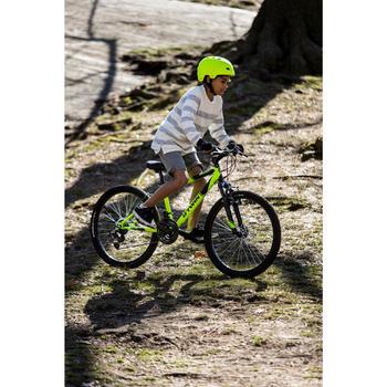 Kindermountainbike Rockrider 500 24 inch 8 -12 jaar fluogeel