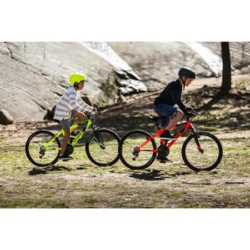 Mountainbike Kinder 24 Zoll Rockrider 500 orange/schwarz