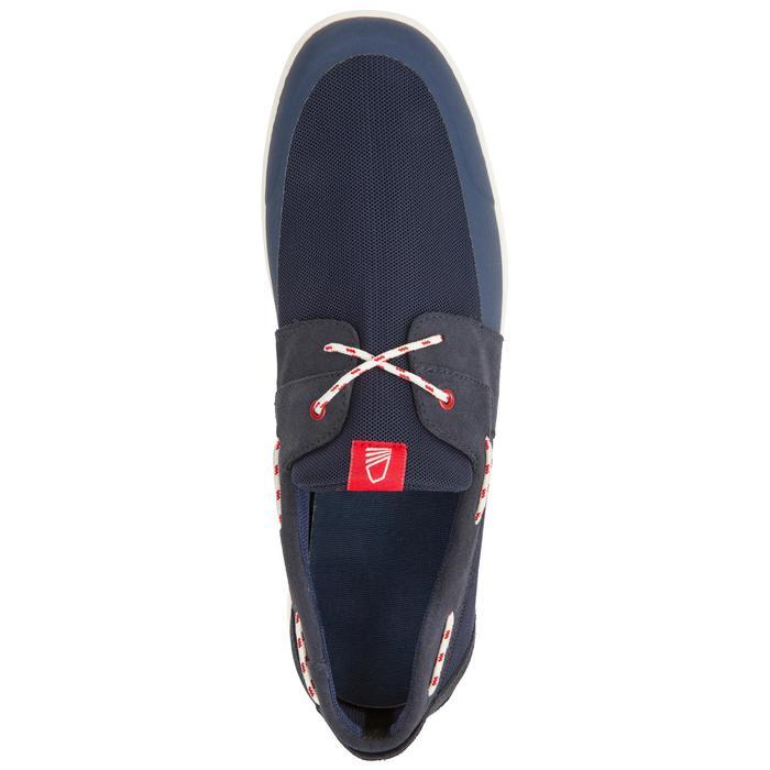 Chaussures bateau homme Cruise 100 bleu foncé - 1201480