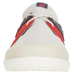 Cruise 100 men's Boat Shoes light beige / blue / red