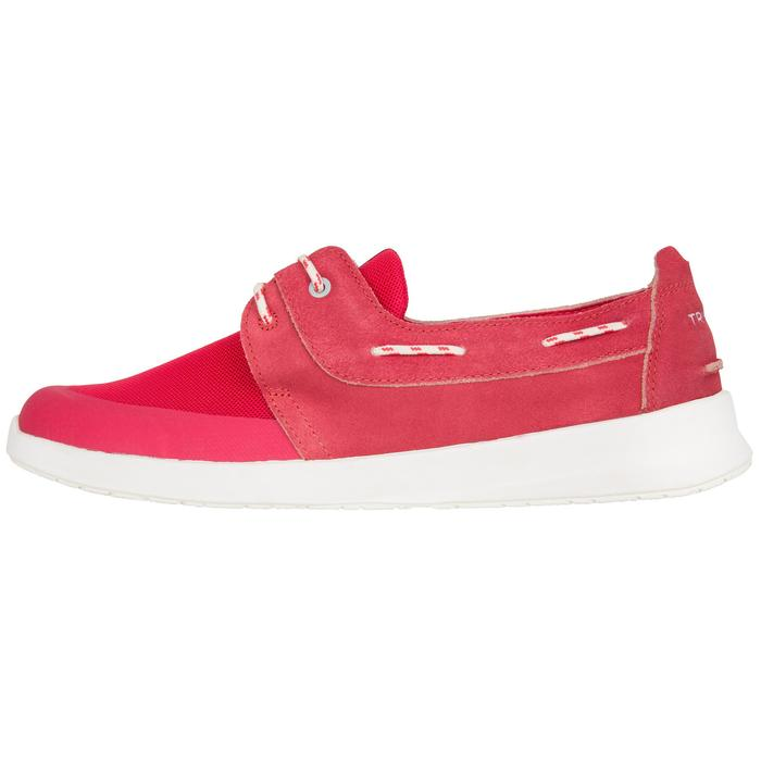 Chaussures bateau femme Cruise 100 rose