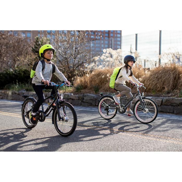 """Kinderfahrrad City Bike 20"""" Mistigirl 540 Kinder grau/pink"""