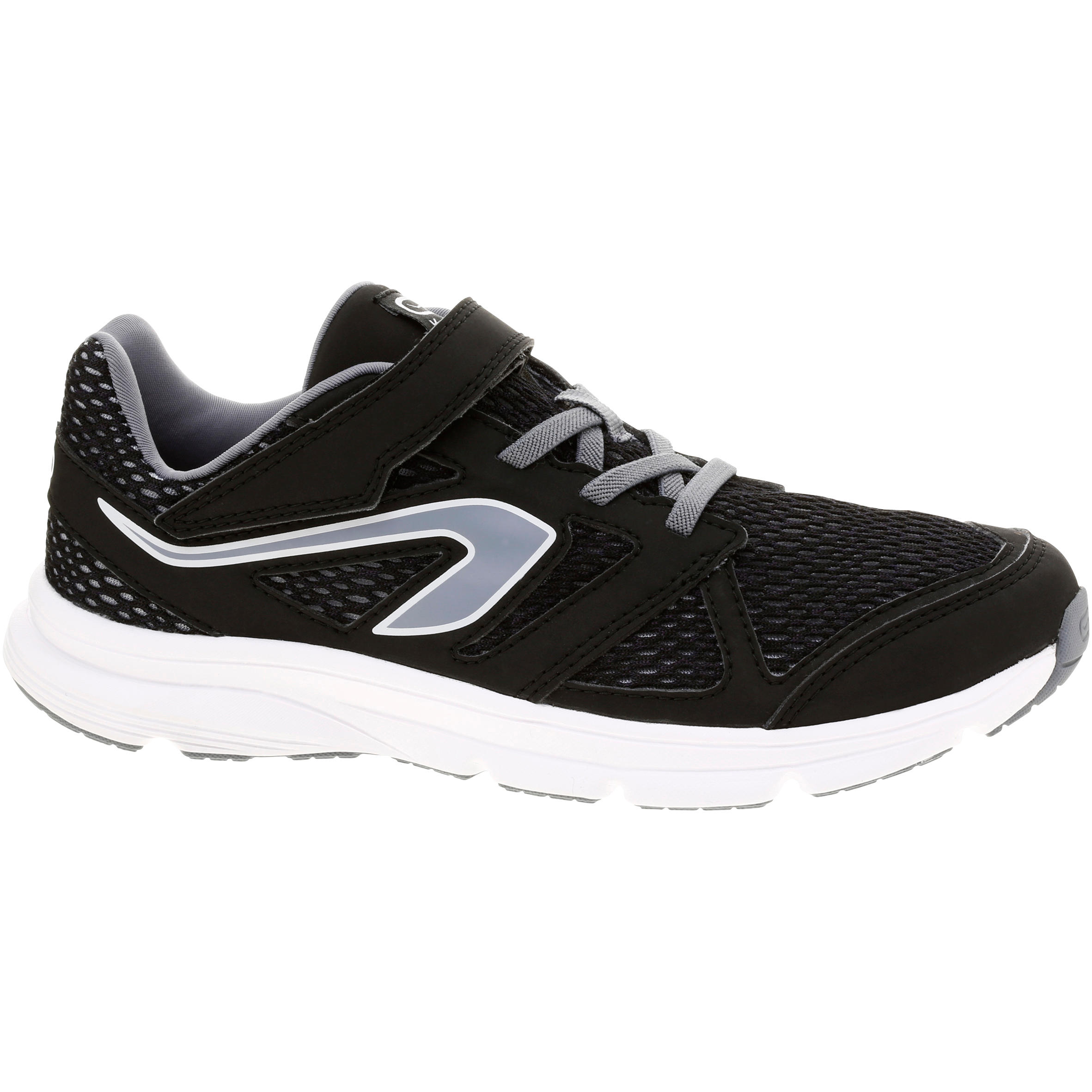 Ekiden Active Easy Children's Running Shoes - Black/Grey