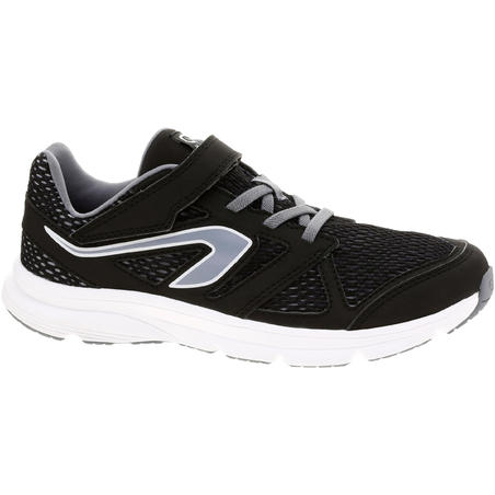 Ekiden Active Easy Children's Running Shoes - Black/Grey