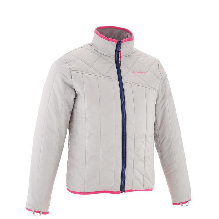 Veste chaude imperméable de randonnée Fille Hike 900 3en1 - 1201629