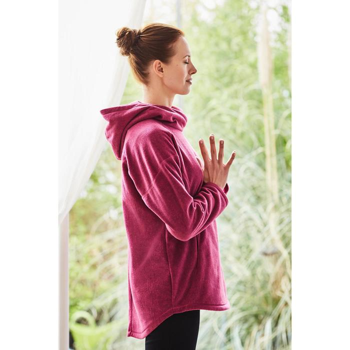 Sweat polaire relaxation yoga femme - 1201650