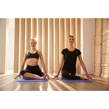 Kuitbroek dynamische yoga zwart
