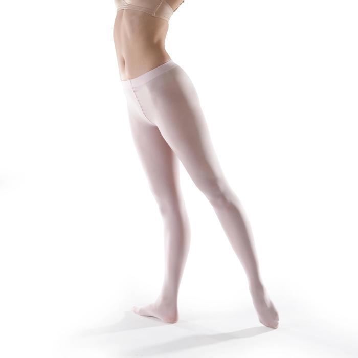 女童芭蕾緊身褲 - 粉紅