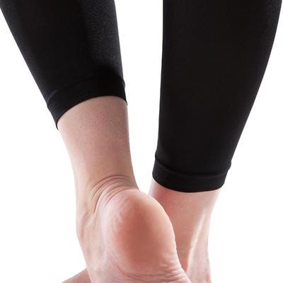 Collants sans pieds danse noir femme