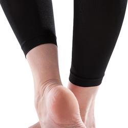 Medias sin pies danza mujer negro