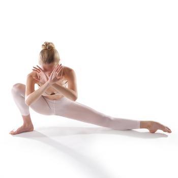 Collant sans pieds danse noir  fille - 1201694