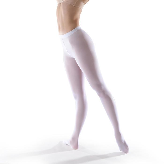 Collant danse classique fille blanc
