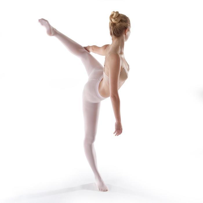 Medias danza clásica niña rosa