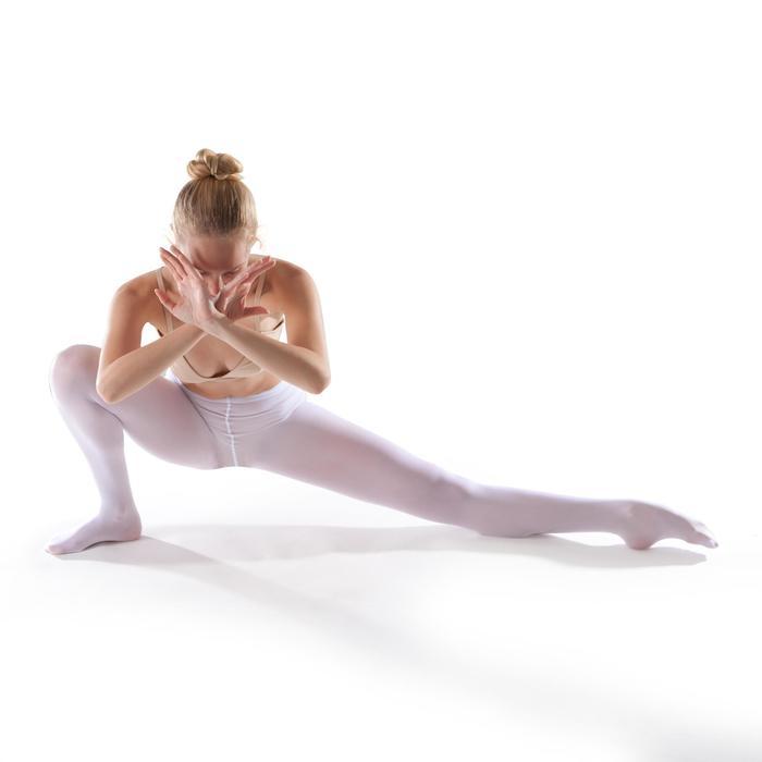 Medias Ballet Domyos Niña Con Pie Blancas