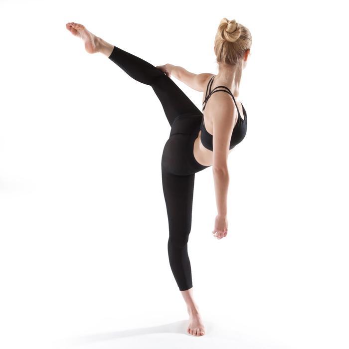 Tanzleggings ohne Fuß Mädchen schwarz