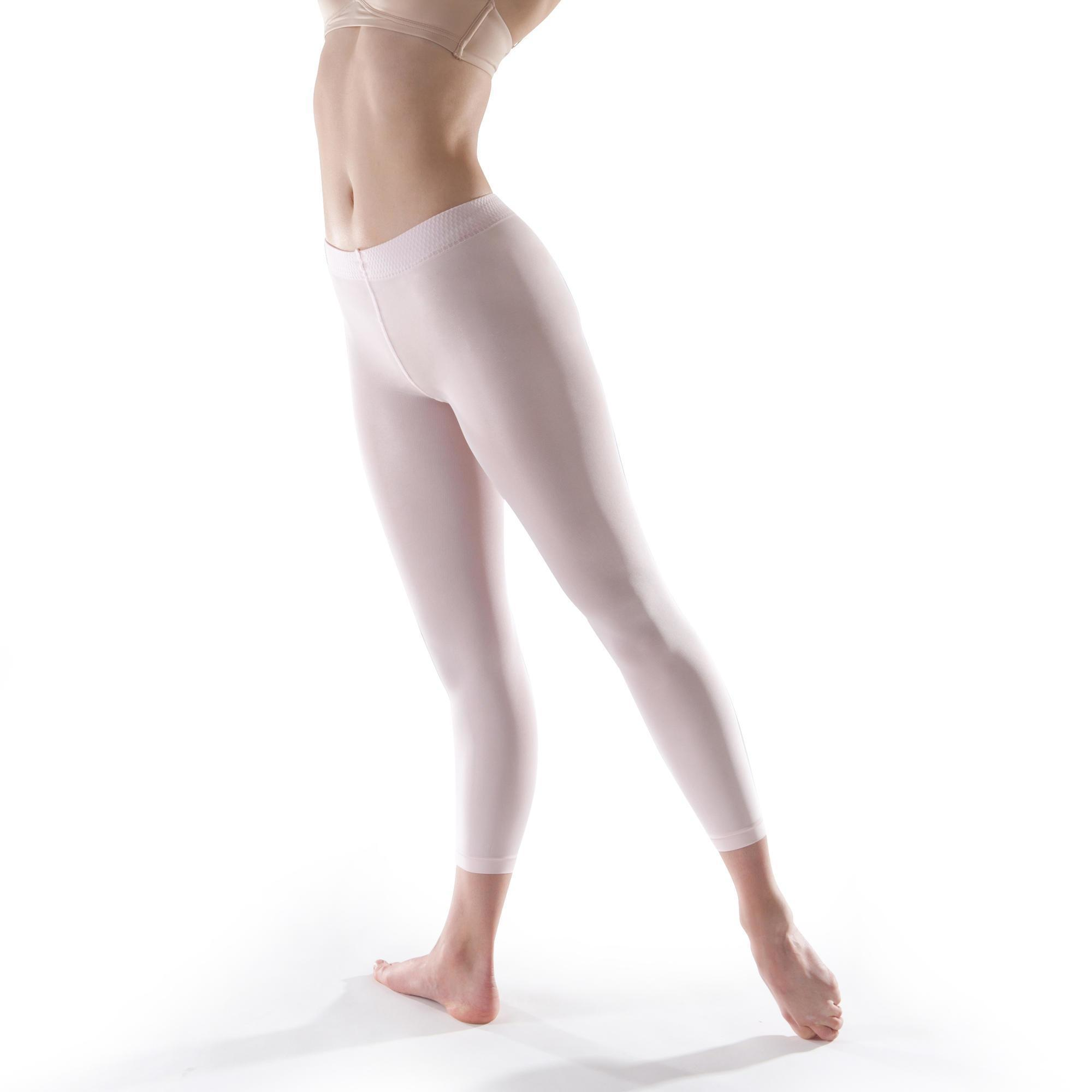 3abe9bede71 Girls  Footless Ballet and Modern Dance Tights - Pink