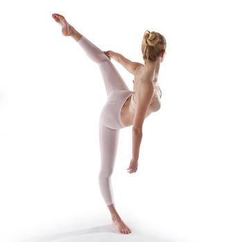 Collant sans pieds danse noir  fille - 1201752