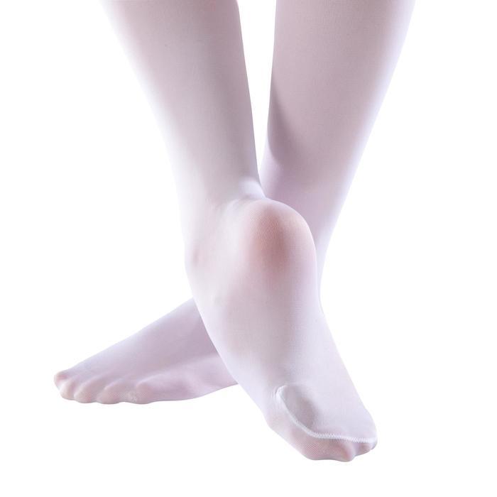 Balletmaillot voor meisjes wit