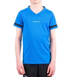 Maillot rugby 100 enfant bleu