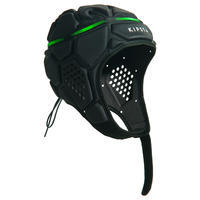 R500 Rugby Scrum Cap - Dark Grey/Green
