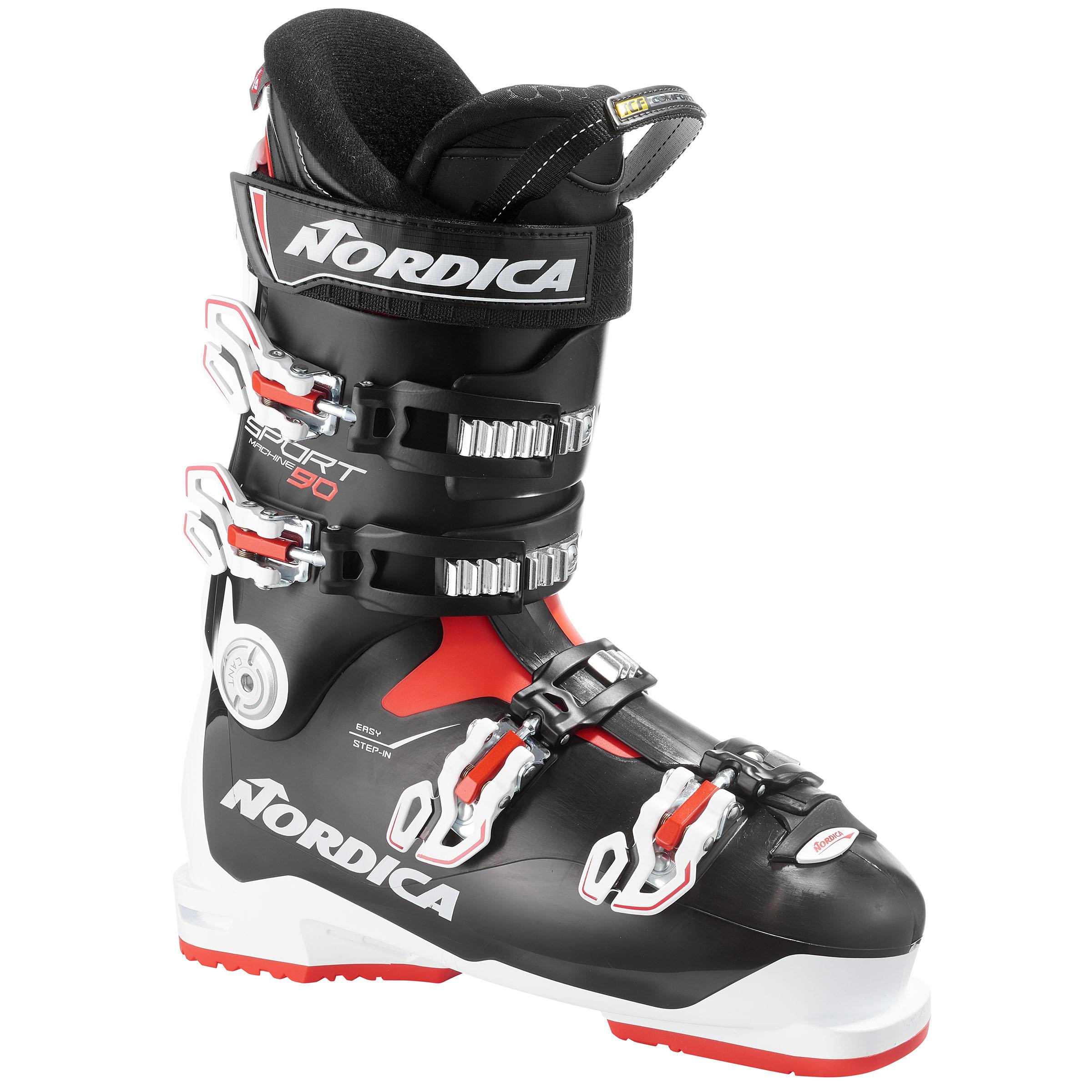 Nordica Skischoenen voor heren Sportmachine 90 zwart thumbnail