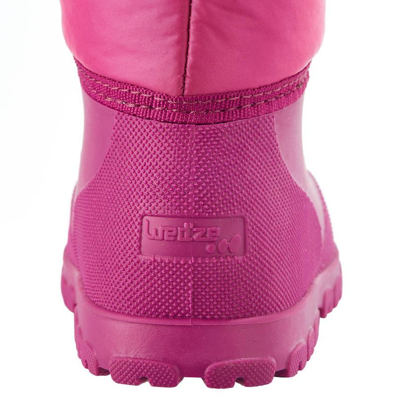Botas de trineo warm rosadas bebé