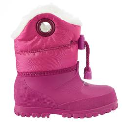 Warm Baby Sledging Boots - Pink